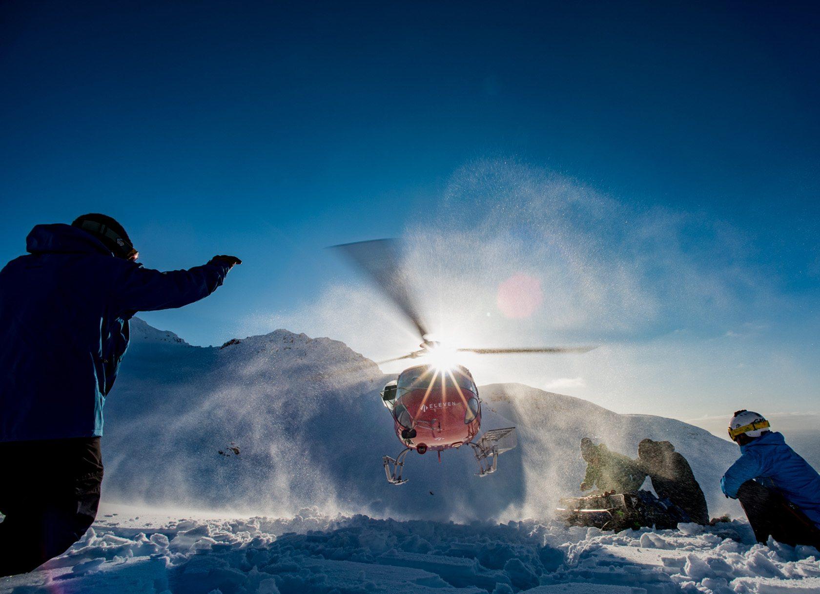 Deplar Farm heli-skiing iceland
