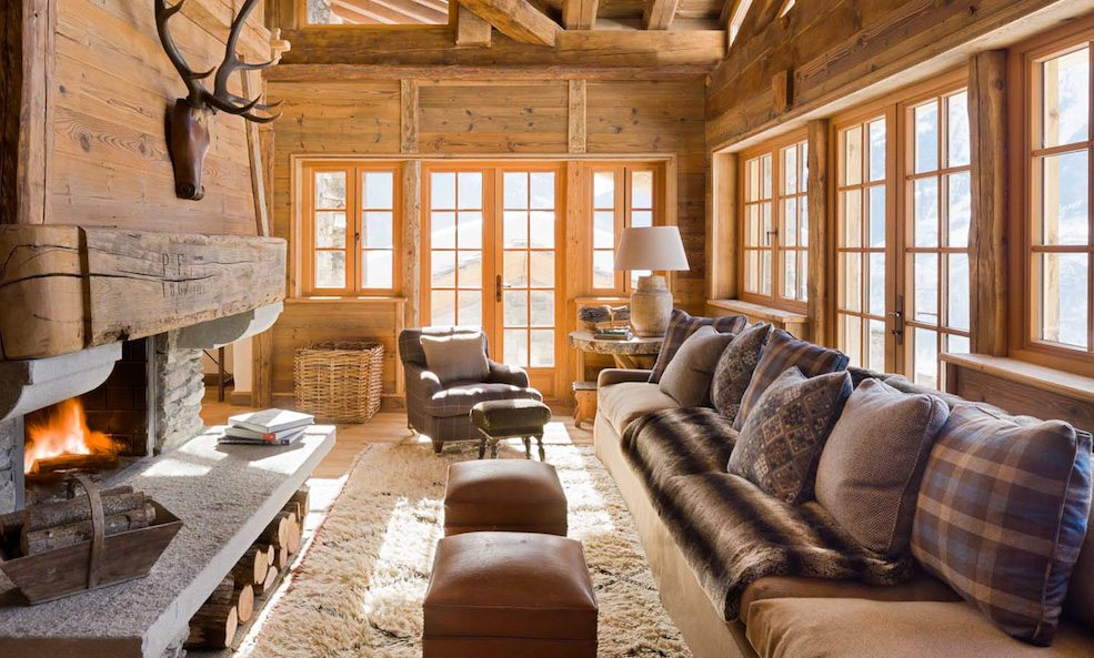 chalet pelerin couch