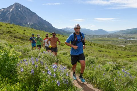 crested butte trail running