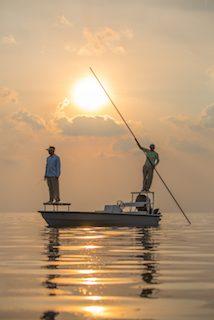 florida fishing sunset