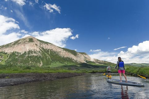 crested butte river sup