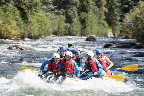 colorado summer river rafting