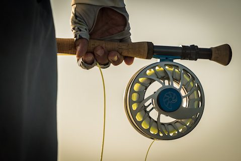 fly fishing reel ocean