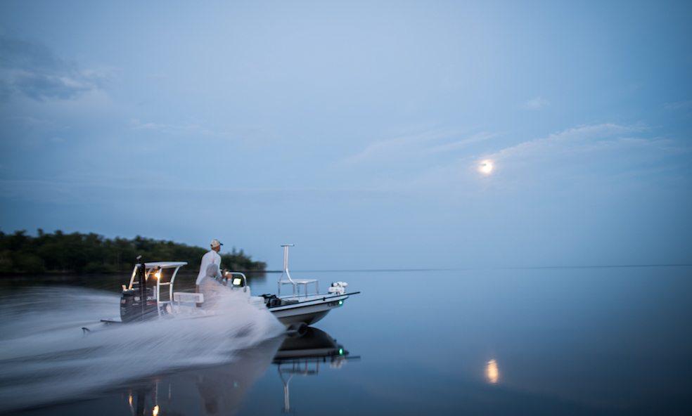 florida fishing skiff