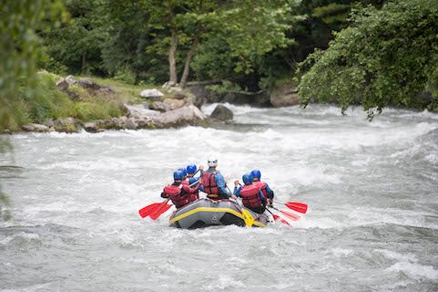 rafting in France