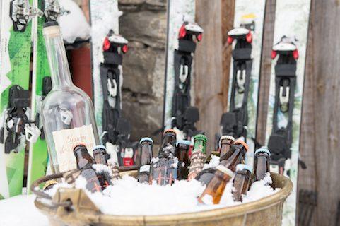 chalet pelerin ski beverages