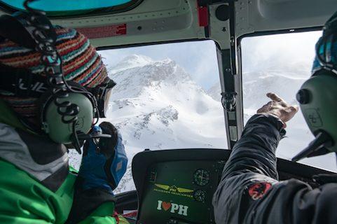 chalet pelerin france heli-skiing