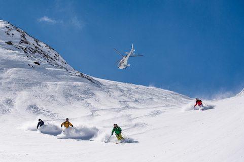 france heli skiing
