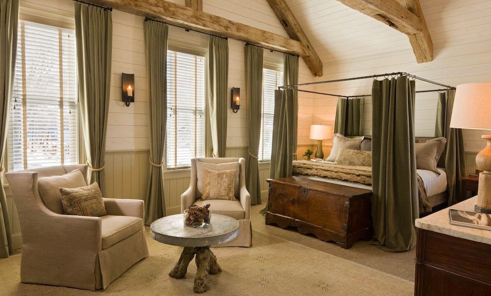 scarp ridge lodge bedroom