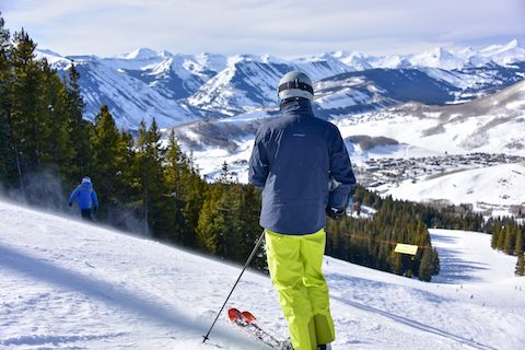 resort skiing