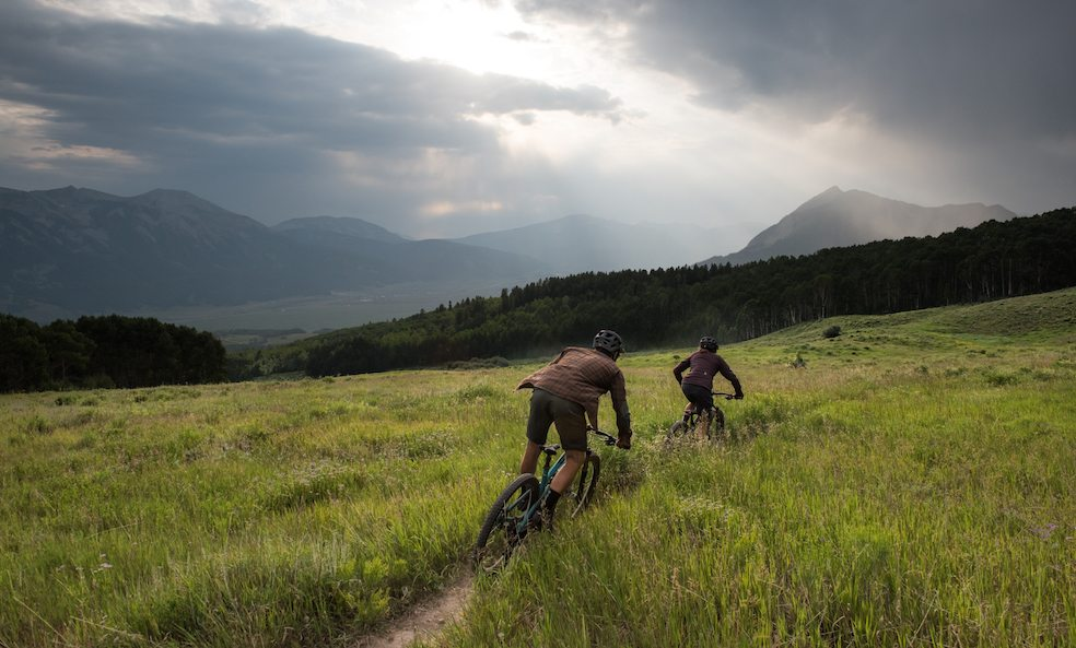 scarp ridge lodge mountain biking