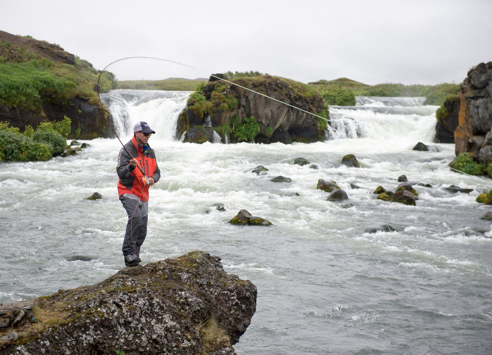 iceland river fishing