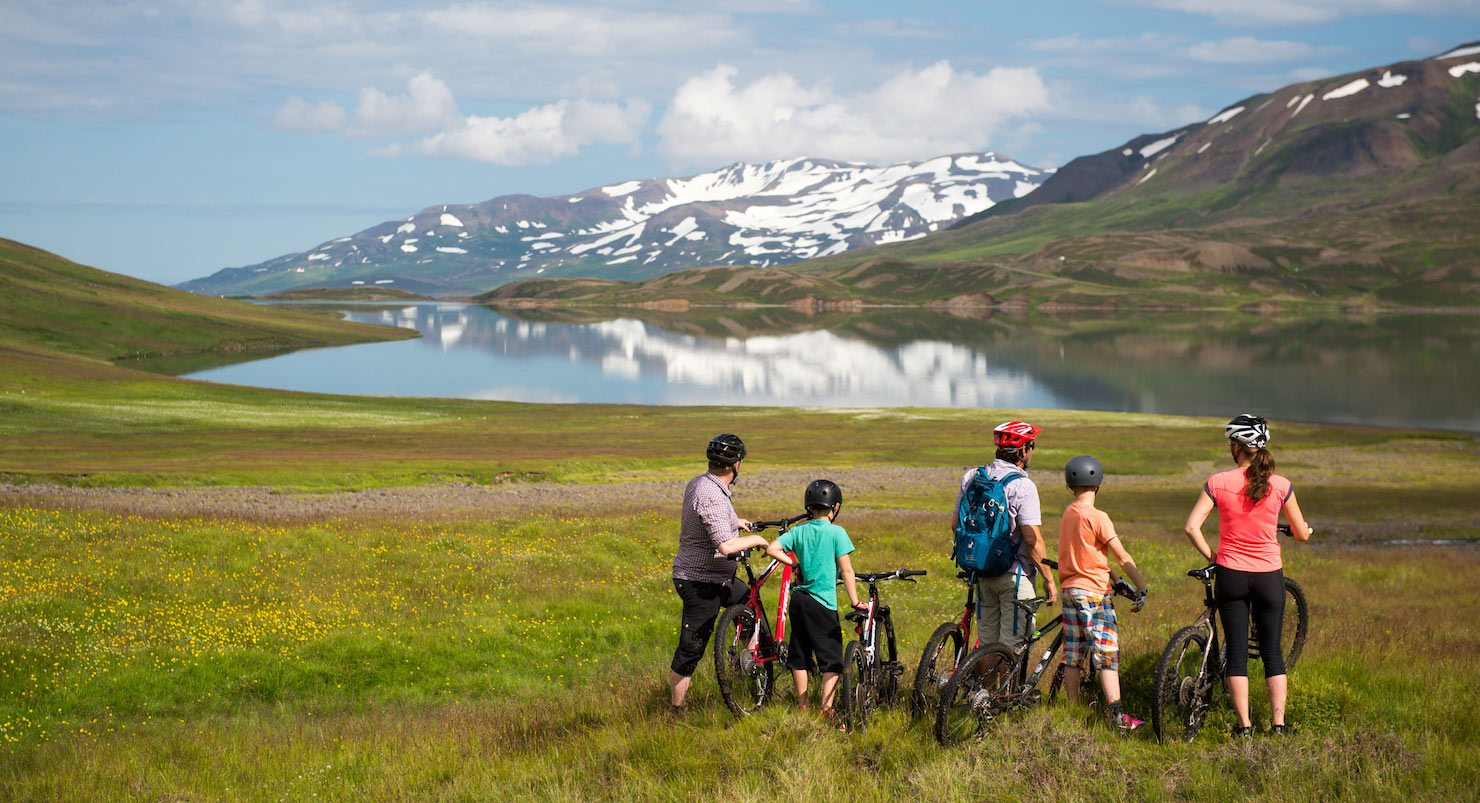 iceland guided mountain biking