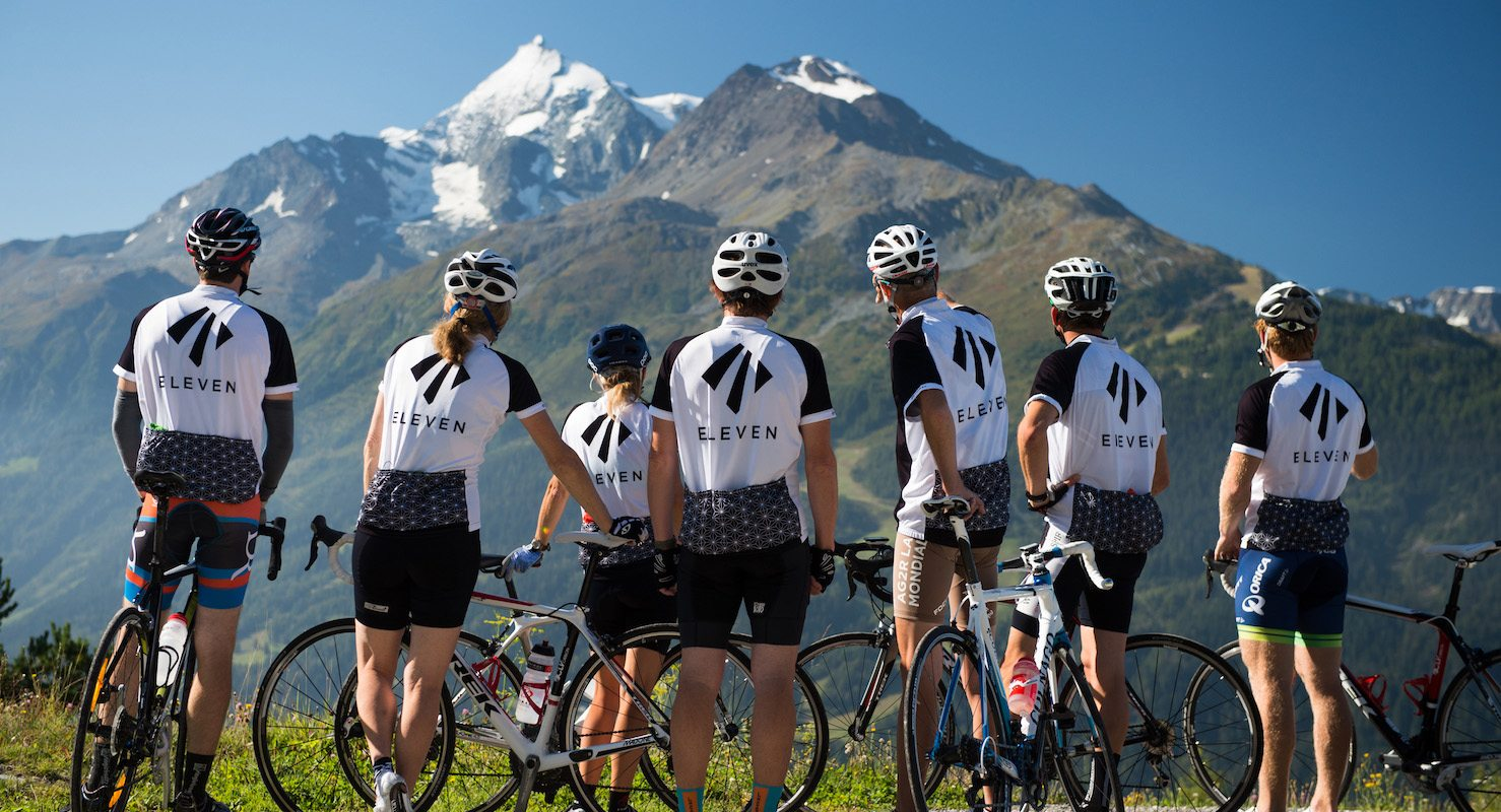 road biking alps