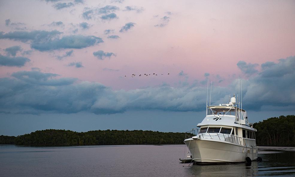 Marquesas luxury bone fishing tarpon yacht