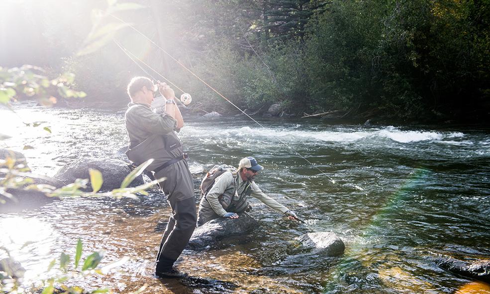 Colorado trout fishing resort