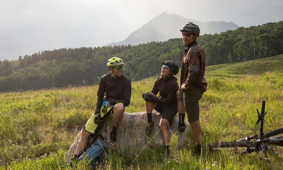 singletrack biking crested butte