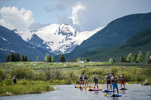 crested butte SUP stand up paddleboarding