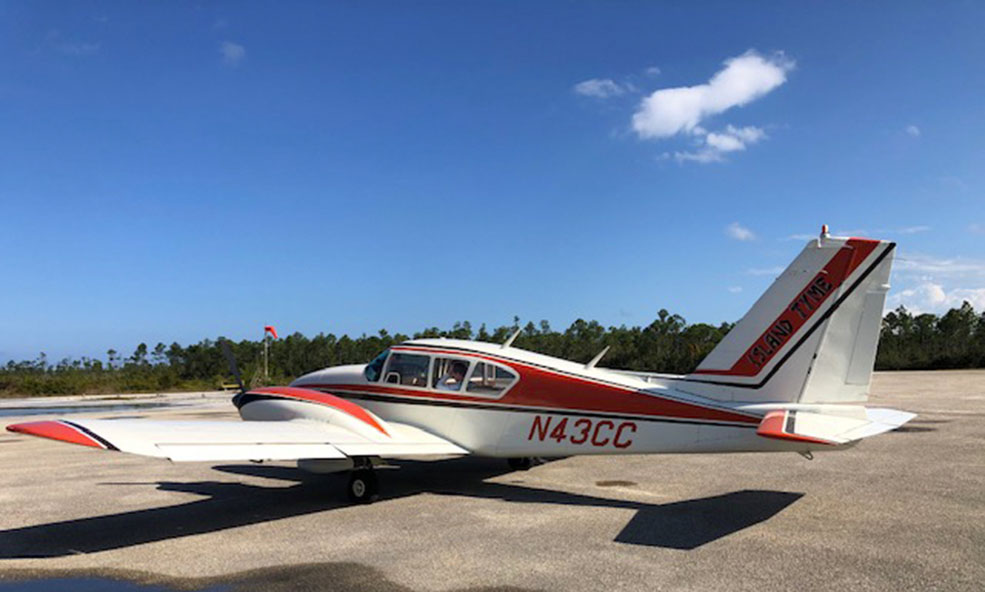 Private Single Engine Airplane Island Ride to Bahama House, Dunmore Town