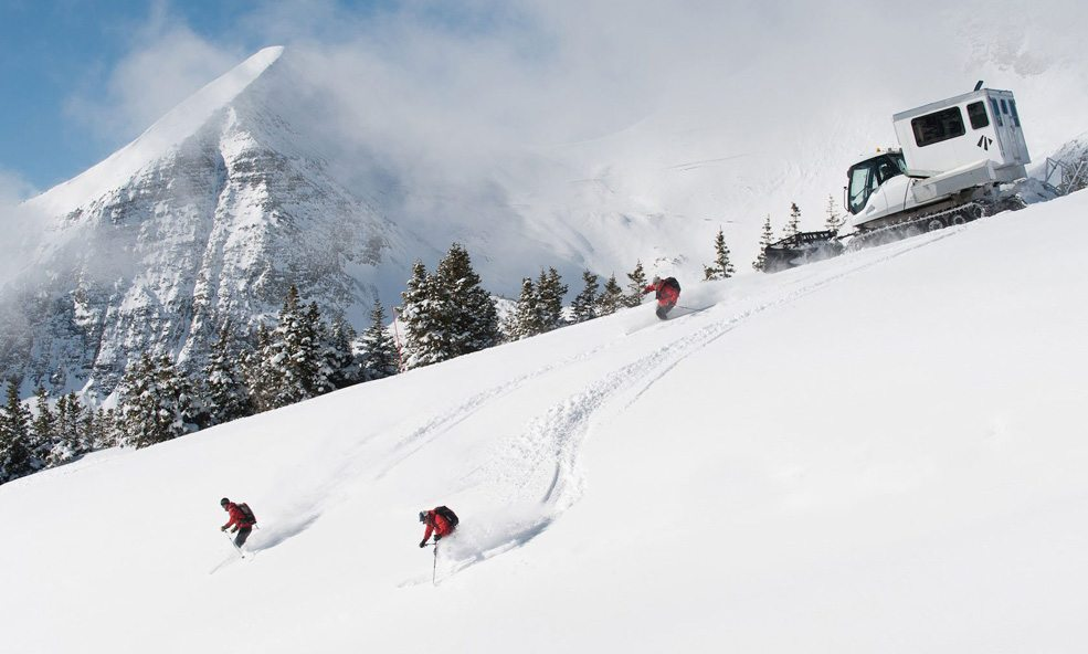 eleven skiing crested butte