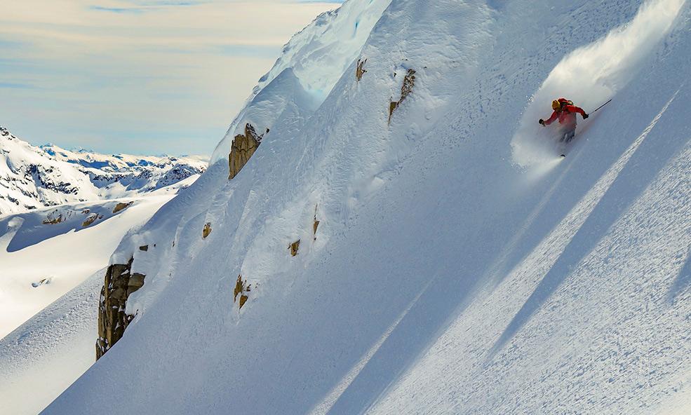 Solo skier explores new powder in Patagonia