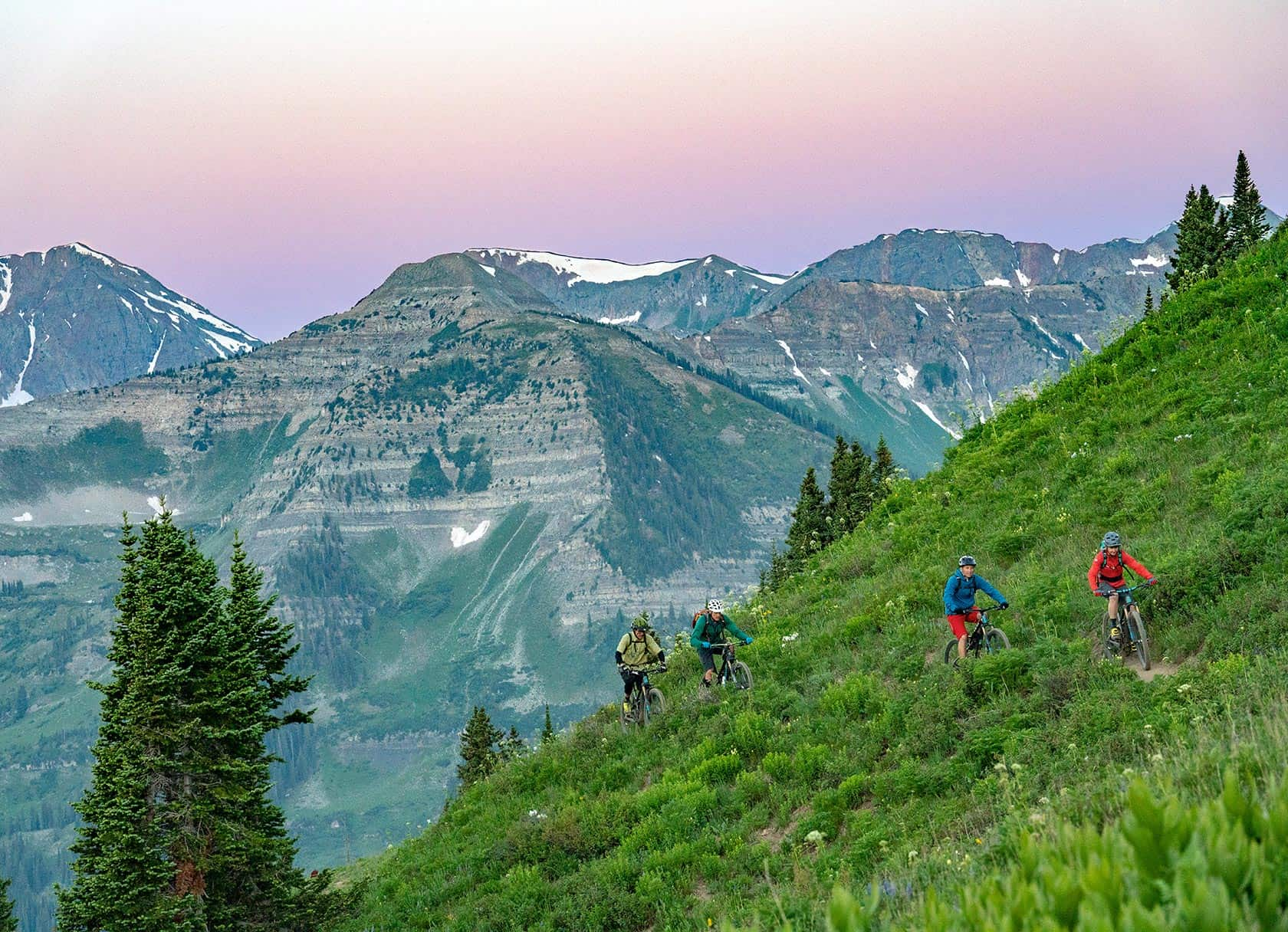 Crested Butte Singletrack experience photos