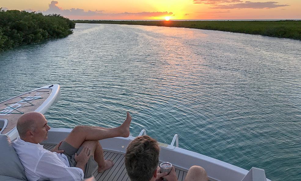 andros luxury fishing yacht
