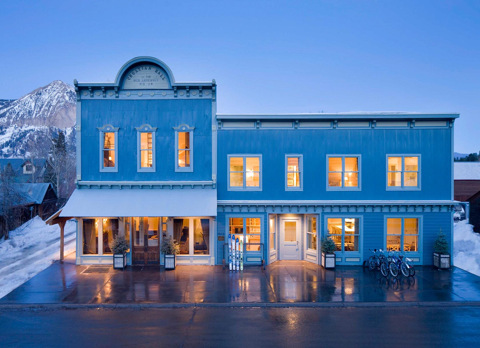 Lodging Crested Butte Downtown | Rentals In Crested Butte