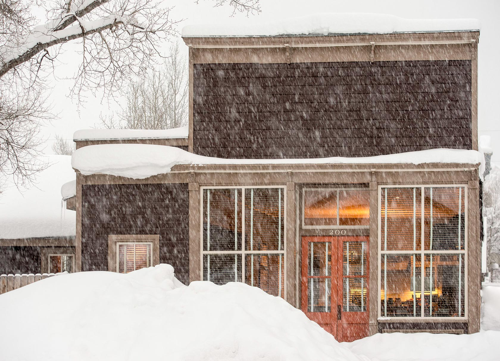 Sopris House Colorado winter
