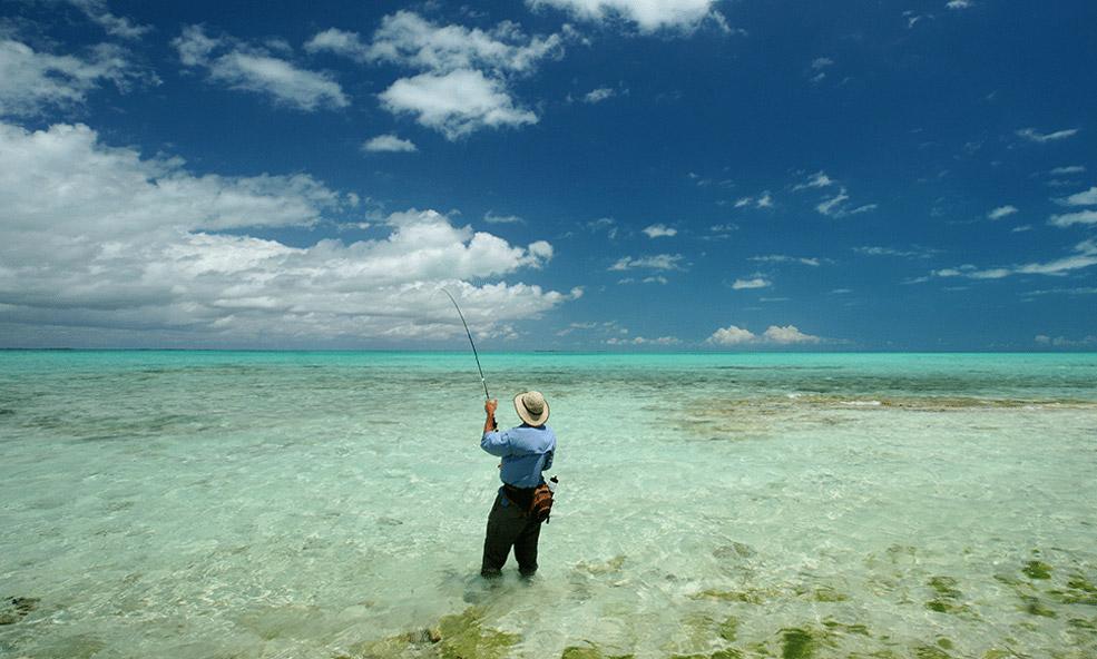 Mothership Andros fishing