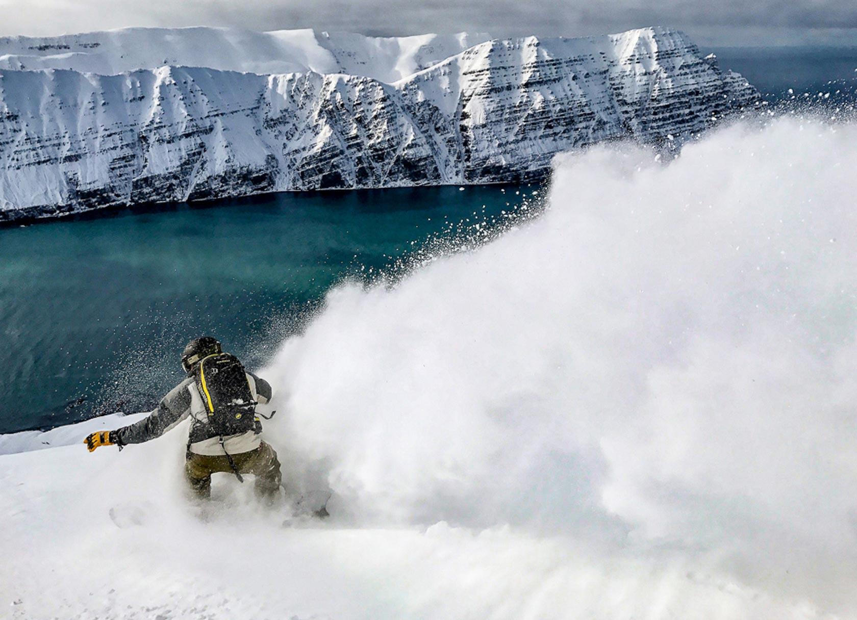 heli-skiing iceland