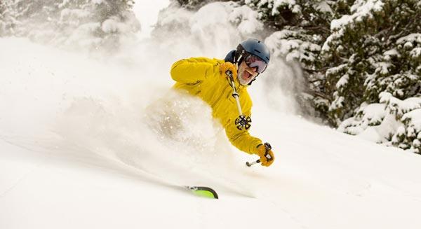 Colorado winter skiing