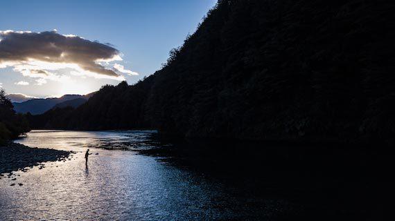 Scenic Chilean River