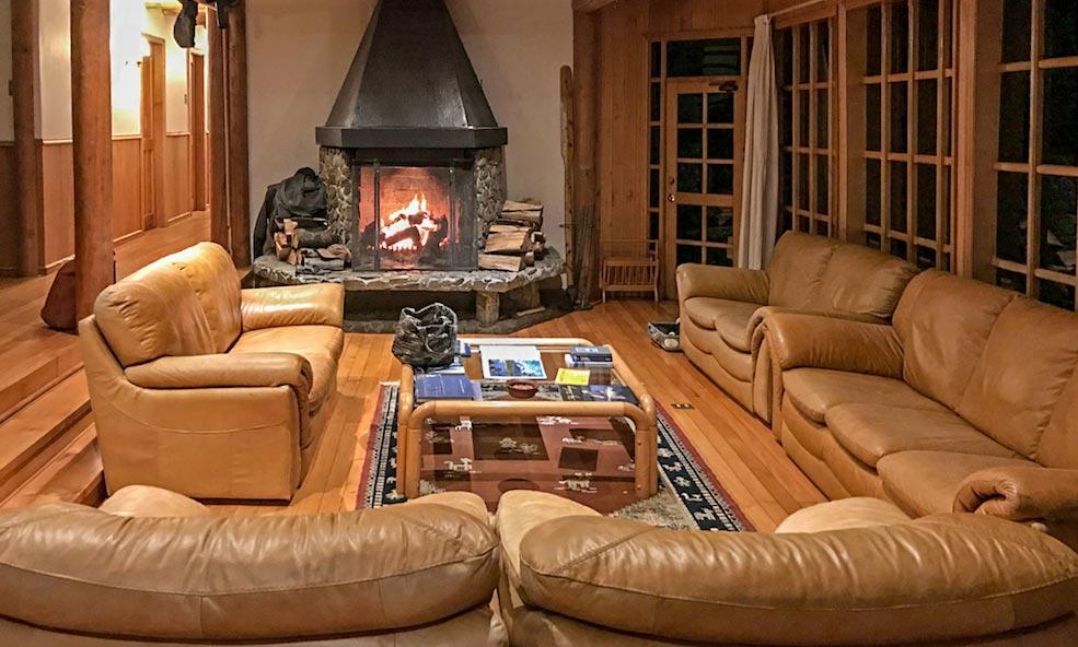 Rio Palena Lodge Main Room