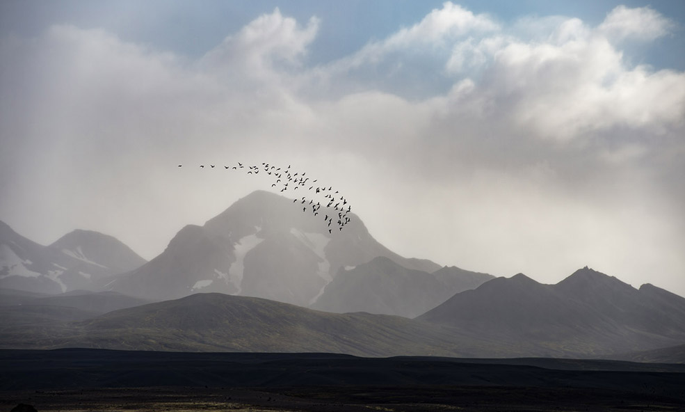 mountains in iceland featured retreat