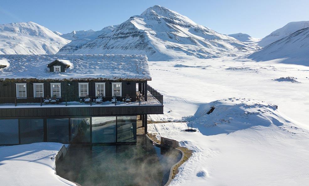 deplar farm iceland exterior hot tub