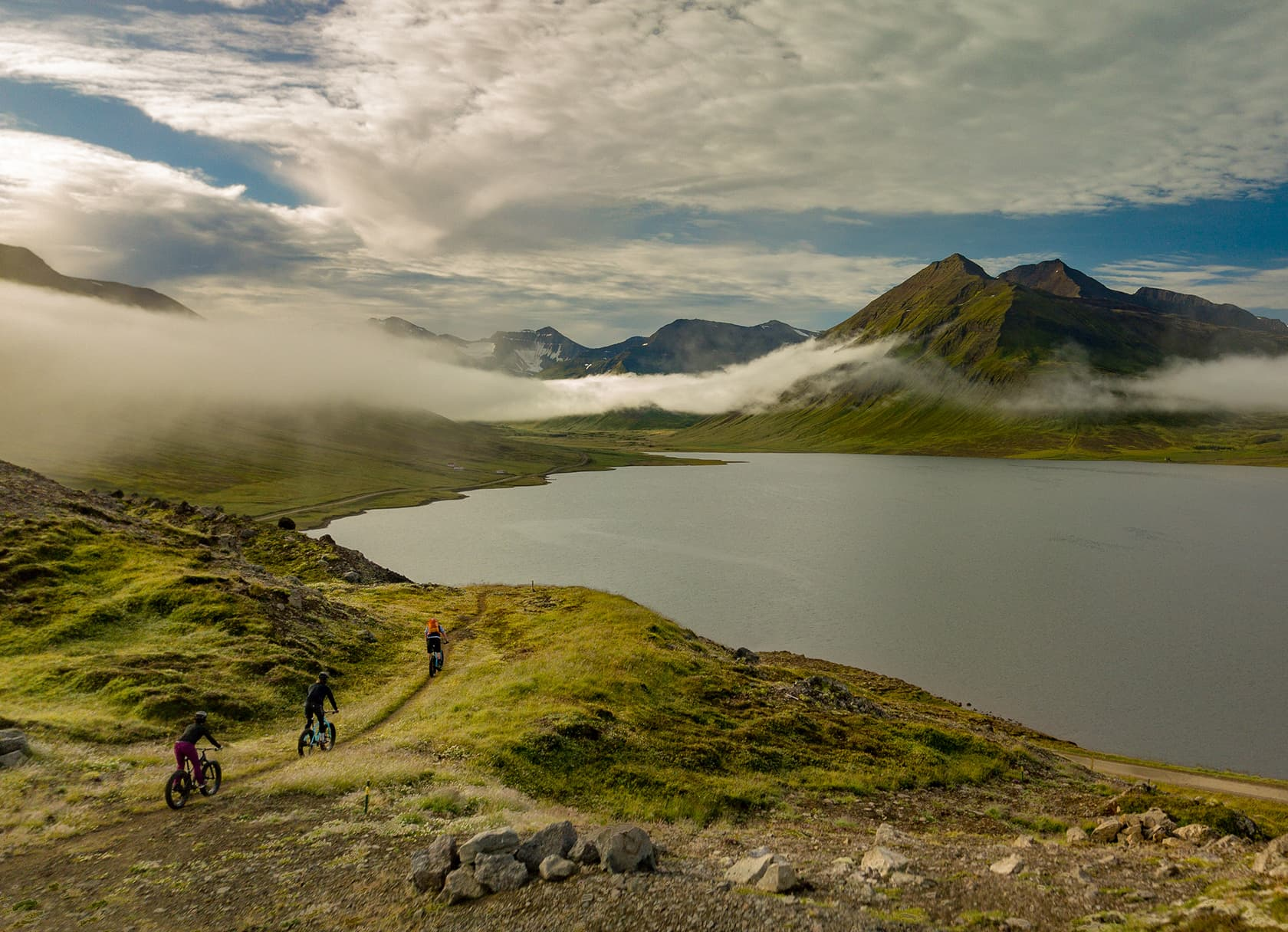 Eleven cycling iceland