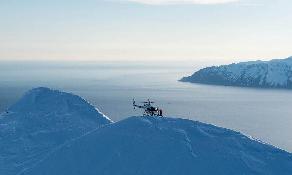 Iceland Heli Skiing deplar