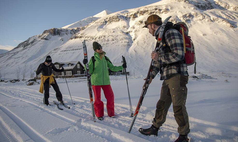 eleven iceland skiing deplar