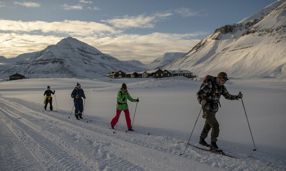 cross country skiing iceland
