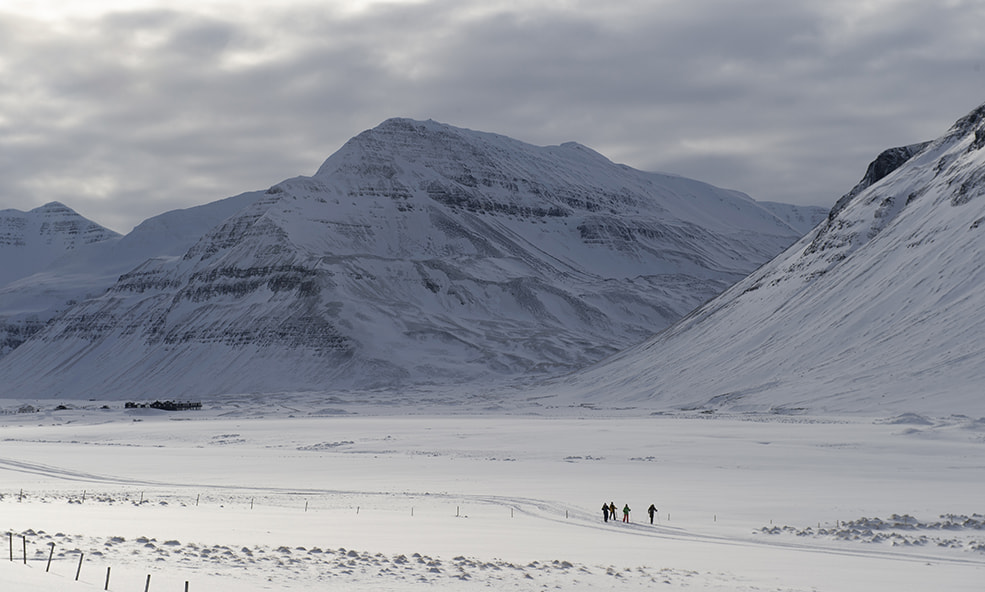 eleven iceland skiing