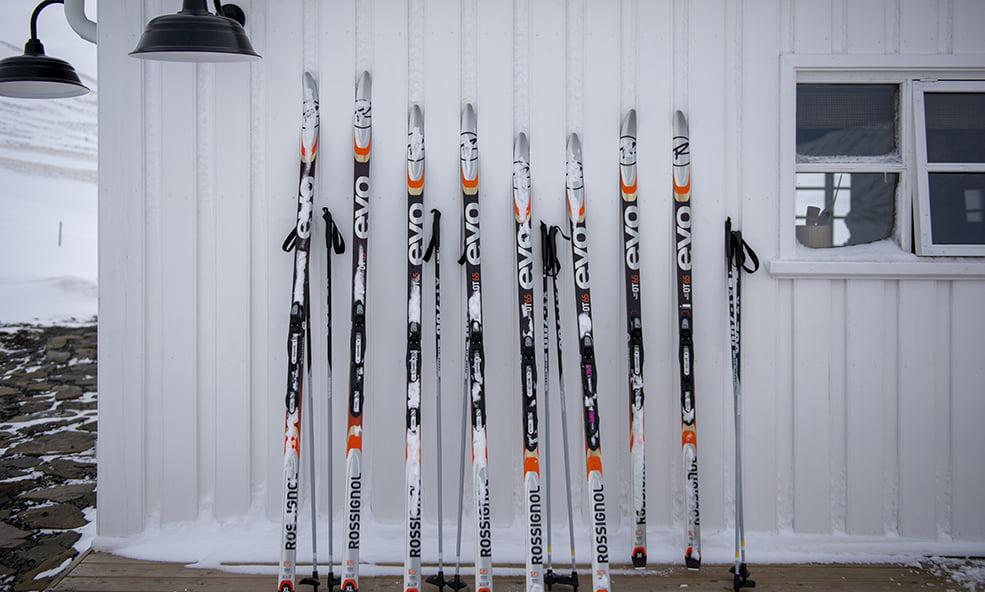evo skis - iceland skiing