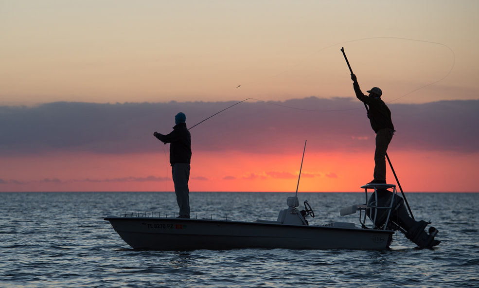 Everglades angling sunset guided adventures
