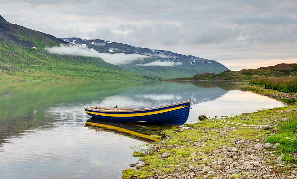 scenic iceland boat