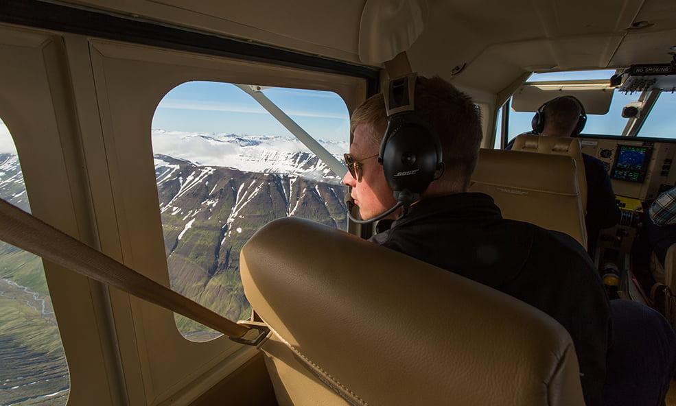 iceland plane