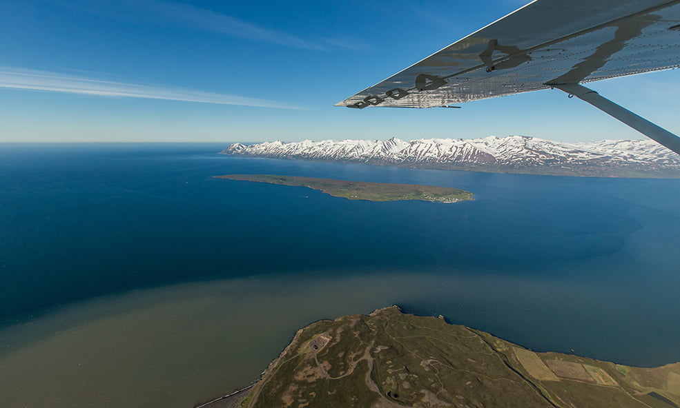 iceland by plane