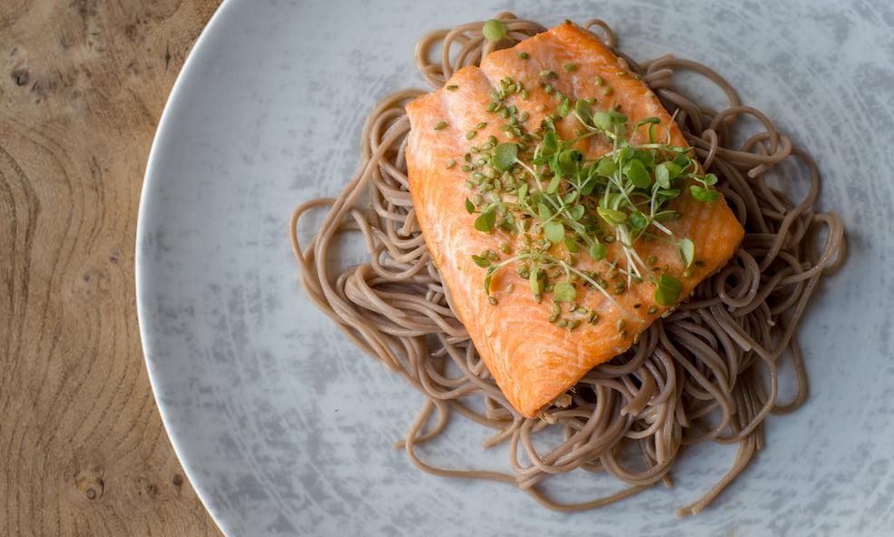 gourmet salmon