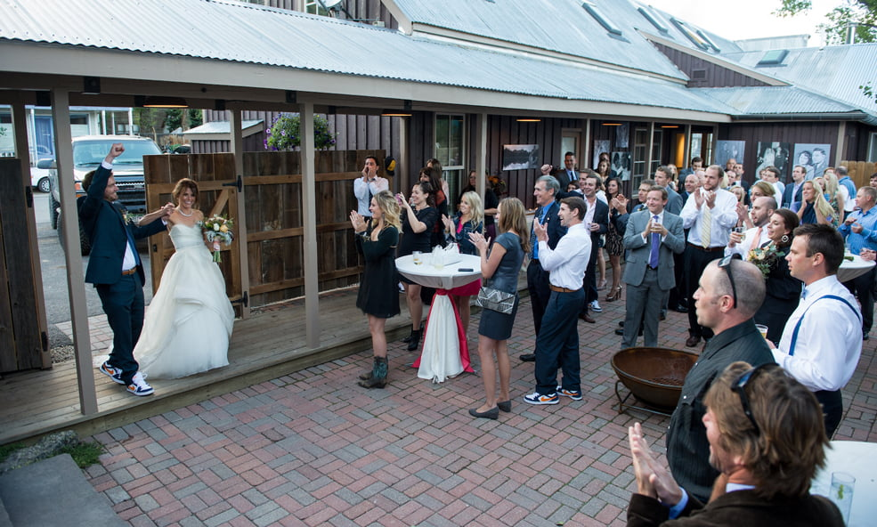 Sopris house wedding
