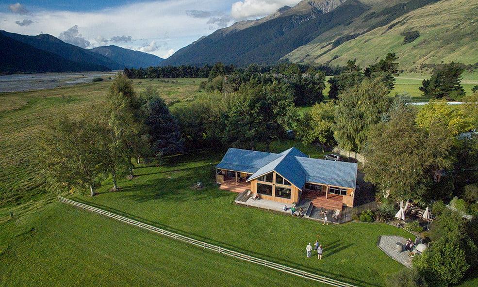 Cedar Lodge overhead