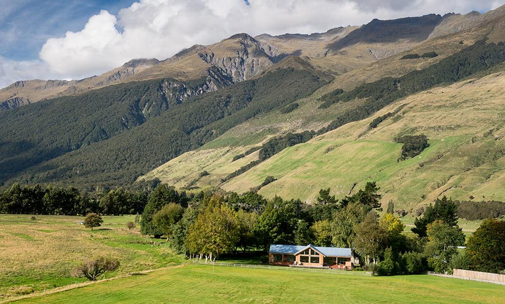 Cedar Lodge NZ hills
